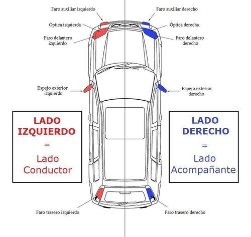 faro auxiliar ford focus 1999 2000 2001 2002 2003 der