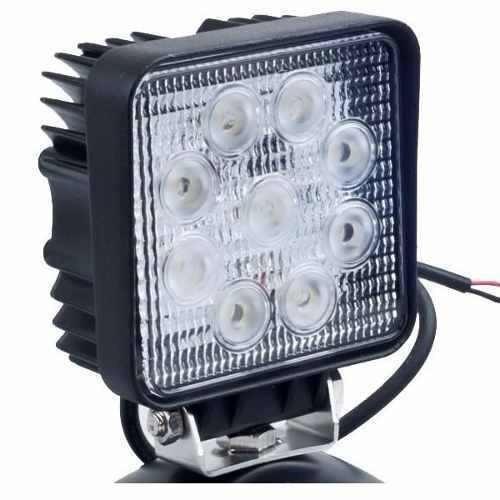 faro auxiliar reflector 4x4 led off road 27w 12a24v camion +