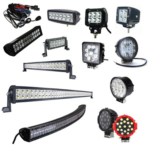 faro barra led cree 260w 47  pulg jeep can am 4x4 rzr toyota