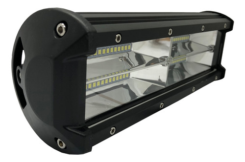 faro barra led rectangular 72w 48 mini leds 4x4 auto
