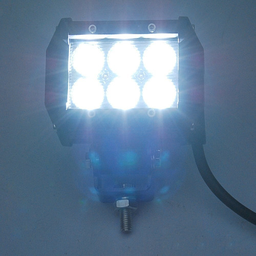 faro cree led 18w 3wx6 waterproof ip67 policarbonato