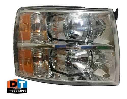 faro delantero derecho camion silverado hd 2011 2012 2013 14