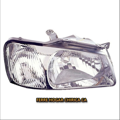 faro delantero derecho hyundai accent/brisa 2000-2002