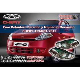Faro Delantero Derecho Izquierdo  Chery Arauca 2012 (ch8527)
