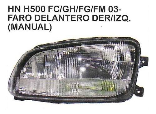 faro delantero hino 500 fc/gh/fg/fm 2003 - 2017 camion
