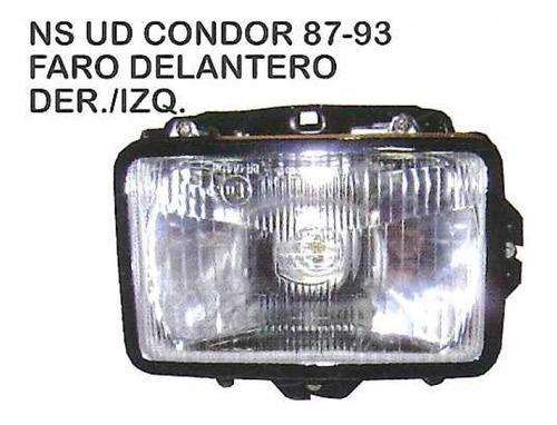 faro delantero nissan ud condor 1987 - 1993 camion