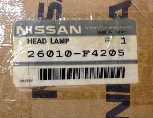 faro derecho de nissan sentra b-13 original año 2006-08