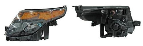 faro ford explorer 11-12-13-14-15 filo negro izquierdo