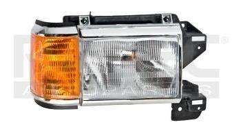 faro ford f-150 1987-1988-1989-1990-1991 cromado