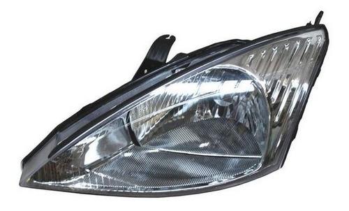 faro ford focus 2000-2001-2002 fondo cromado derecho