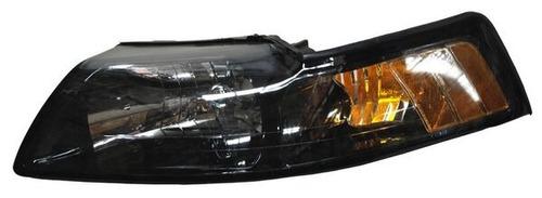 faro ford mustang 99-00-01-02-03-04 fondo negro izquierdo