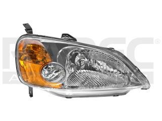 faro honda civic 2001-2002-2003 4 p