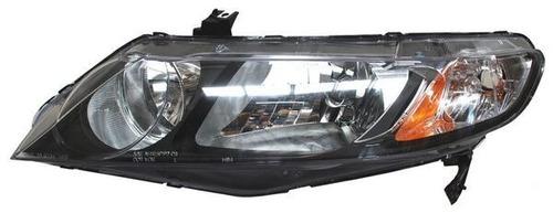 faro honda civic 2006-2007-2008 sedan hybrido izquierdo