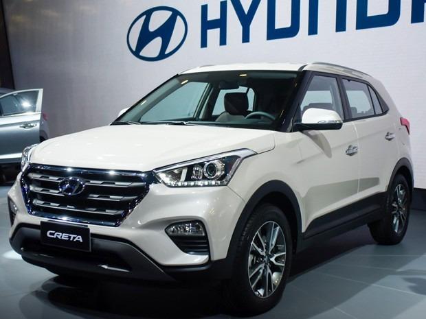 Faro Hyundai Creta 2017 2018 Usado Original Impecable De