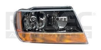 faro jeep grand cherokee 1999-2000-2001-2002-2004fondo negro