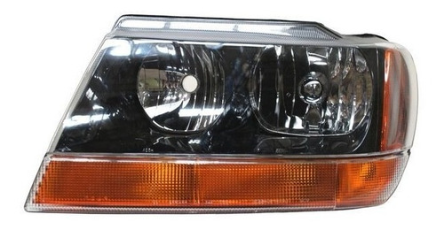 faro jeep grand cherokee 1999-2000-2001fondo negro copiloto