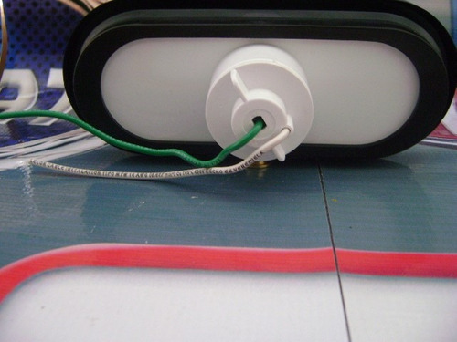 faro lateral f-137a-2 aro goma rectangular