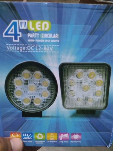 faro led, 14 luces..15 verdes