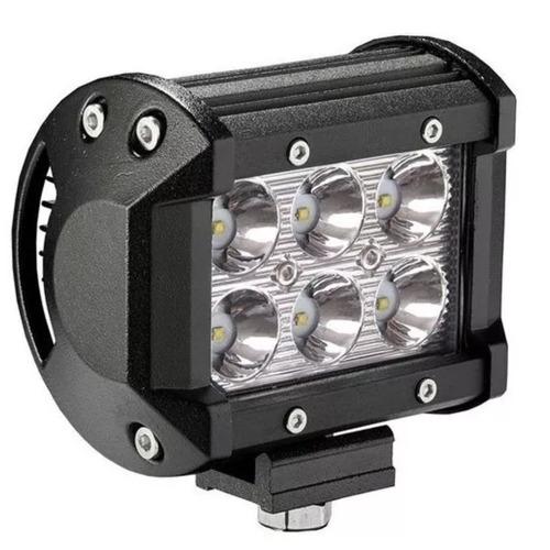 faro led cree 18w luz ip67 anti agua off road 4x4 moto tiend