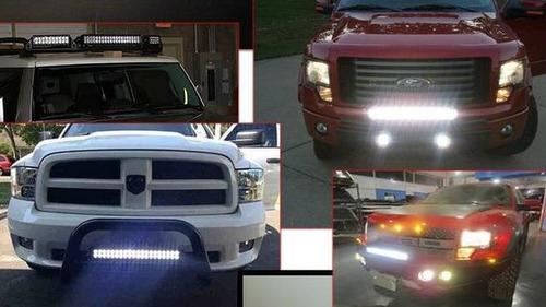 faro led cree barra 120w 40 led 21 pulgadas jeep 4x4 off roa