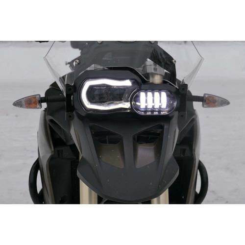 faro led motos bmw f650gs f700gs f800gs f800r! envio gratis!