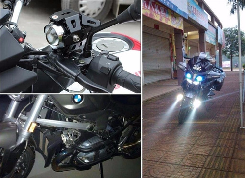 faro led u5 cree u5 125w 3000lm carro y moto somos tienda