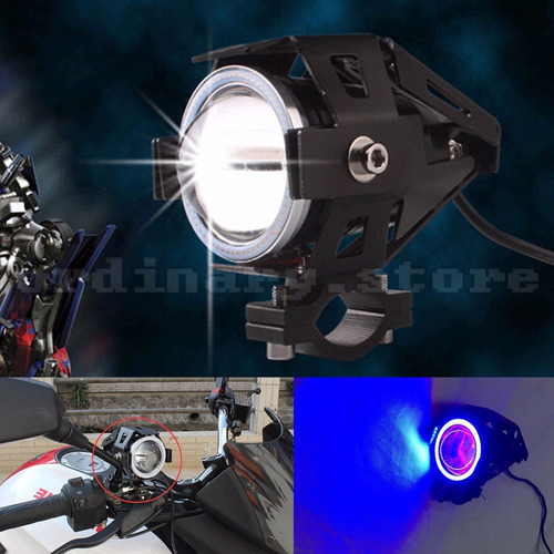 faro led u7 transformers ojo de angel - para motos tuning