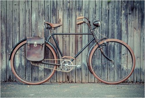 faro luz lámpara led bicicleta vintage antigua urbana pilas