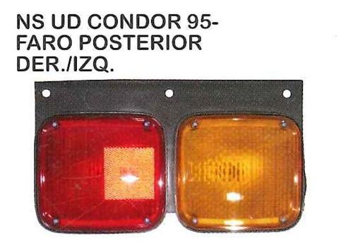 faro posterior nissan ud condor 1995 - 2011 camion
