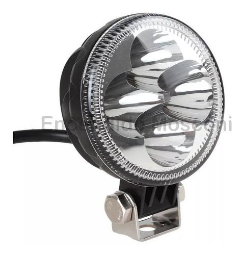 faro proyector redondo 12w 1600lm 4leds 12v 24v