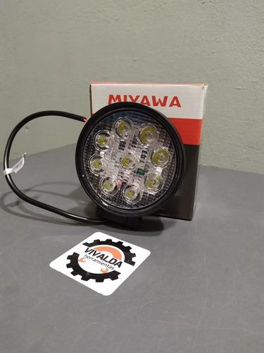 faro proyector reflector 9 led 4x4 off road 27w miyawa