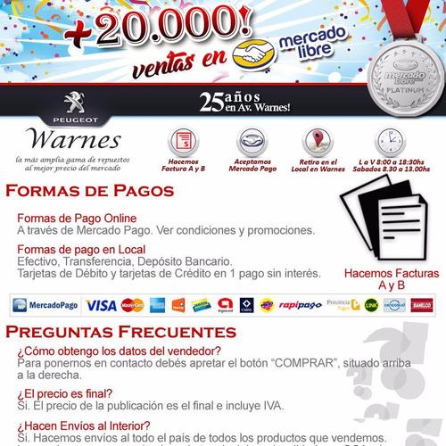faro trasero der nacional peugeot partner patagonica 99-2009