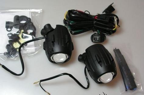 faróis auxiliares kappa ks310 bmw 650 700 800 1200 gs = givi