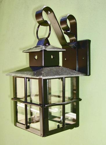 farol artesanal jardin de pared mensula de hierro *fabrica*