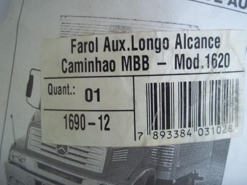 farol auxiliar/ longo alcance / caminhão/ mbz/1620