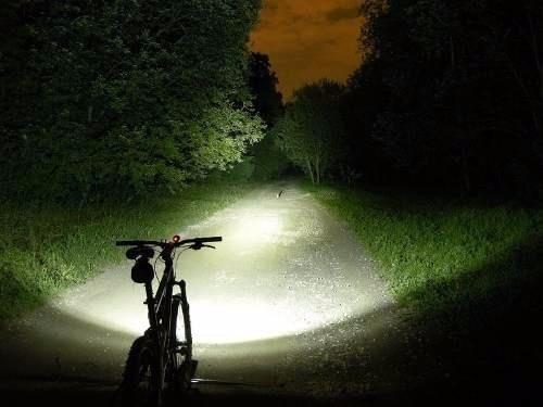 farol bike 3 leds cob zoom t6 recarregável usb cabeça novo