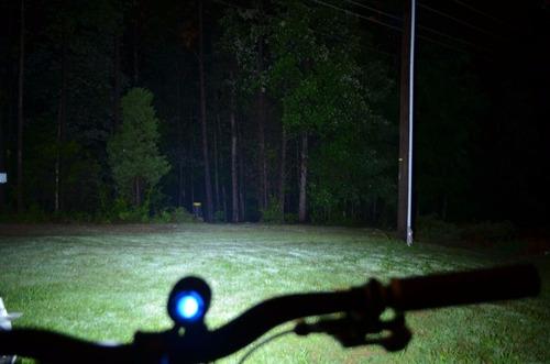 farol bike bicicleta led t6 foco fixo alta luminosidade