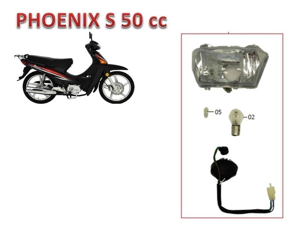 Farol Completo Com Lampada Da Phoenix S