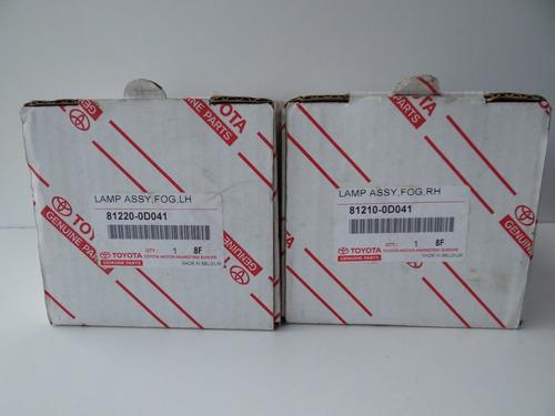 farol de milha auxiliar toyota rav 4 2005/2012 original/novo