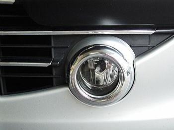 farol de milha peugeot 307 2007 a 2012 a. cromado + lampadas