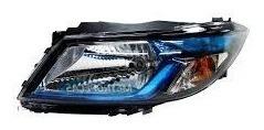 farol dianteiro esquerdo onix/prisma novo lente azul