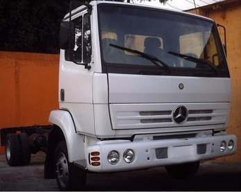 farol duplo h1 h1 caminhão mercedes-benz 712c 1215c frete g.
