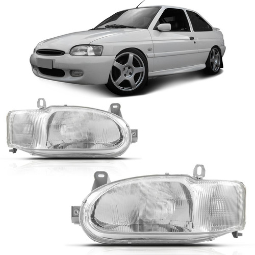 farol escort 1997 1998 1999 a 2001 2002 cromado