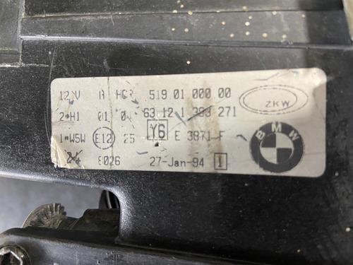 farol esquerdo 320i 325 zkw bmw serie 3 92 a 98 original