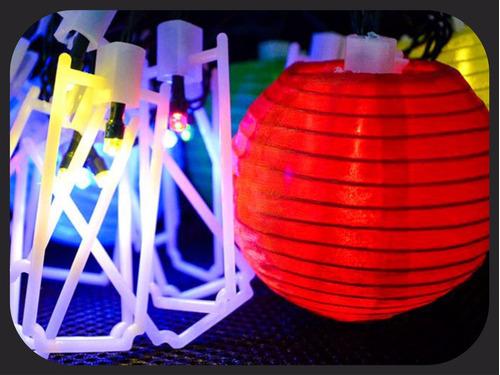 farol farolito chino x10 guirnalda china esfera bola lámpara