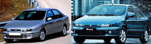 farol fiat marea brava 1997 1998 1999 2000 2001 2002 2003 fume lente liso novo direito.