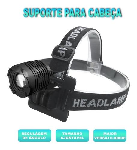 farol lanterna cabeça mtb ciclismo bing gb-721 recarregável