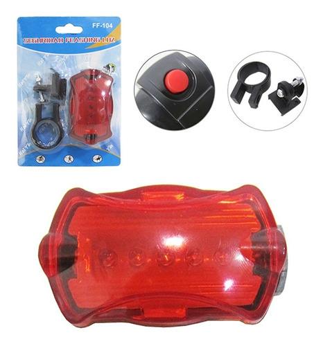 farol lanterna traseira bicicleta bike led luz de segurança
