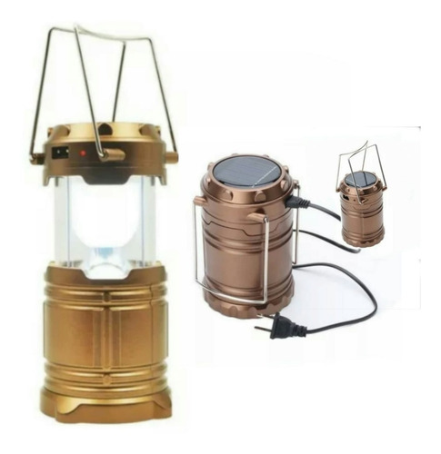 farol led plegable - usb - solar - pilas - 220w - portatil -