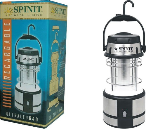 farol linterna led spinit recargable bajo consumo local caba